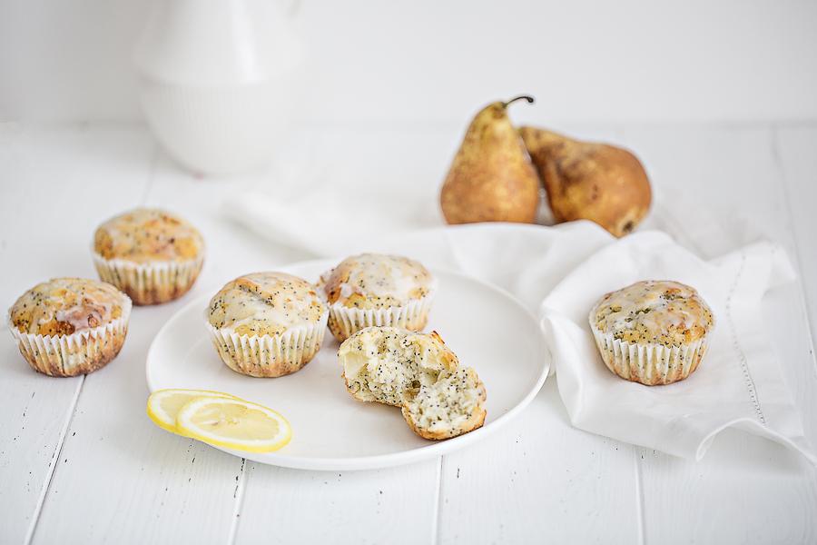 Découvrez la recette des Muffin Citron et graines de pavot