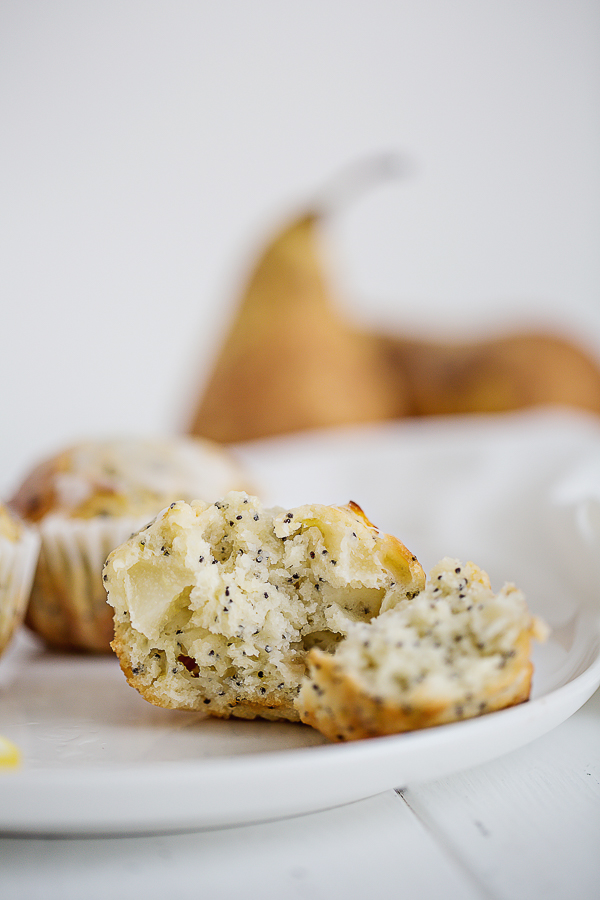 Recette de Muffin Citron et graines de pavot