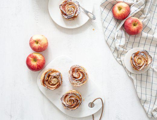 Tartelette Pomme Rose , délicieux gouter